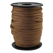 Cordoncino alla moda 4 mm paracord bronzo scuro marrone