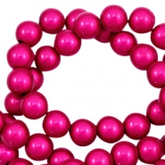 Perline Miracle 3D 8 mm fucsia rosa